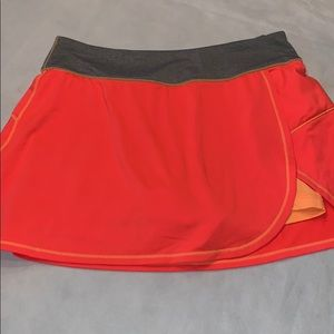 Fila athletic skort orange small